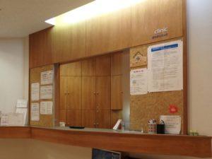 病院の会計窓口